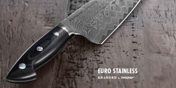 Bob Kramer - Euro Stainless Damast