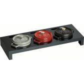 Staub - Servierbrett schwarz für 3 runde Mini Cocottes, 40509-374 / 1190700