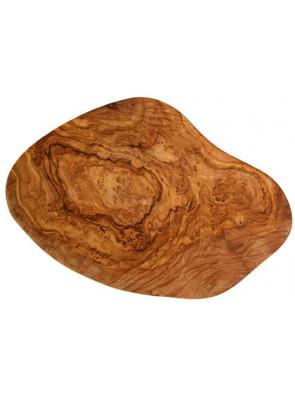 Schneidbrett klein, Olivenholz, ca. 25-28 cm x 2 cm, Art. Nr. 14180