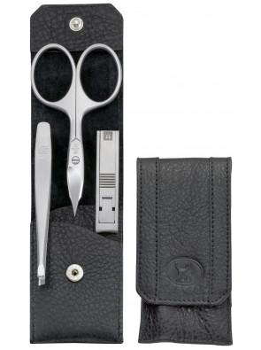 Zwilling Beauty - Maniküre Twinox Taschen-Etui, schwarz, 3-tlg., 98642-004