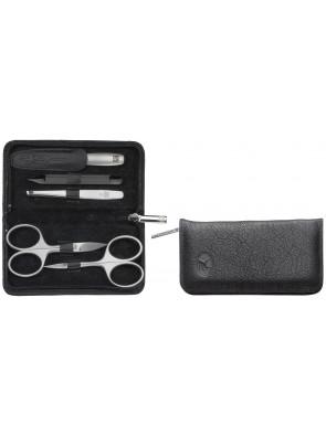 Zwilling Beauty - Maniküre Twinox Reißverschlussetui, schwarz, 5-tlg., 98681-004