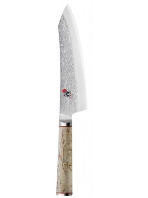 Miyabi 5000MCD (Birchwood SG2) Rocking Santoku, 180 mm, 34388-181