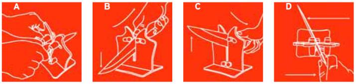 Vulkanus Professional Messerschleifer - Bedienungsanleitung